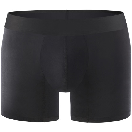 Comfyballs Black No-Show Cotton
