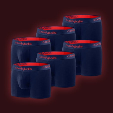 Performance - 6 x Navy Racing Red