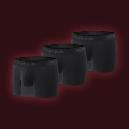 Performance - 3 x Black Charcoal Hybrid Performance