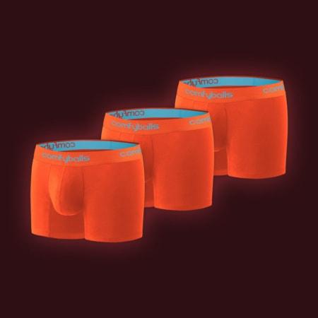 Performance - 3 x Sunset Orange Blue