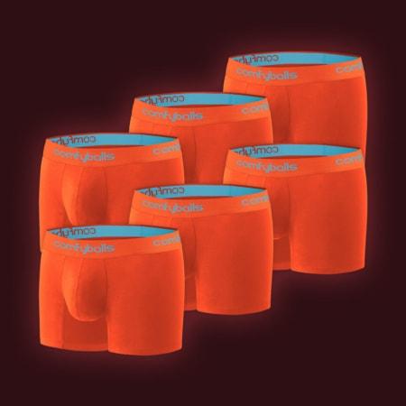 Performance - 6 x Sunset Orange Blue